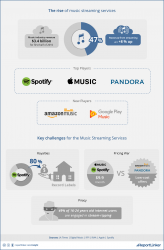 The rise of music streaming services